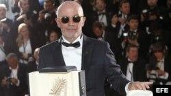 Jacques Audiard, ganador del Palma de Oro en el Festival de Cine de Cannes 2015.