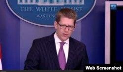 El portavoz Jim Carney dijo en la Casa Blanca que Zunzuneo no fue un proyecto secreto, aunque se aplicó de manera discreta en el restrictivo ambiente cubano