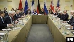Las negociaciones entre Irán y el Grupo 5+1 avanzan