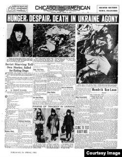 Holodomor en Ucrania, reportes de prensa (2).