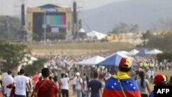 """Participantes en el """"Venezuela Aid Live"""""""