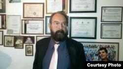Eduardo Matías Ferrer, el abogado que fundó el albergue para migrantes cubanos en México.