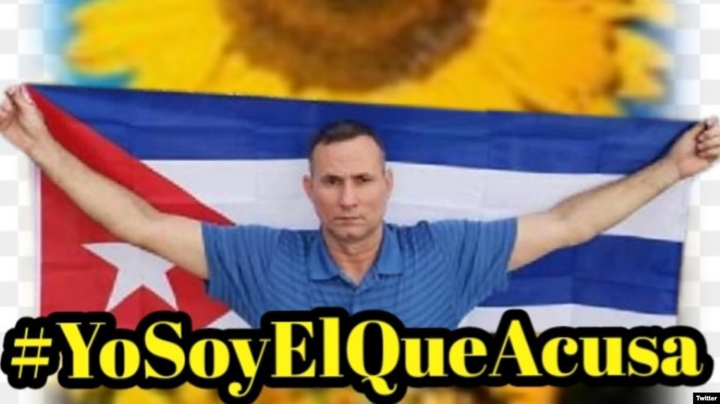 Campaña en redes sociales #YosoyelqueAcusa, impulsada desde prisión por José Daniel Ferrer. (@liettysrachel)