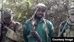 El líder del grupo islamista Boko Haram, Abubakar Shekau.