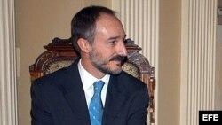 Imagen de archivo del nuevo embajador Juan Francisco Montalbán Carrasco