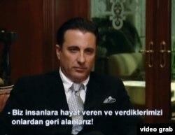 García reaparecerá en las pantallas de Turquía con el personaje Amon.