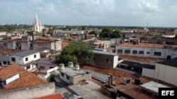 Vista de la ciudad de Camagüey.