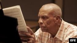 El músico cubano Bebo Valdés