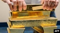 Lingotes de oro, en disputa judicial en Londres.