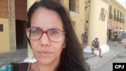 Luz Escobar, en una foto de archivo.