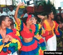 """Neri Torres: """"Lo que me atrae de los bailes afrocubanos es su libertad expresiva y la riqueza en el movimiento""""."""