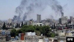 El ejército sigue bombardeando zonas residenciales y según obervadores de ONU ha usado a niños como escudos humanos.