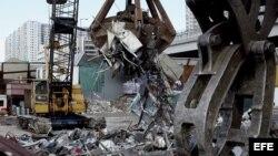La empresa Tung Tai exportó desechos de metales comprados a Cuba para ser reciclados por industrias en China.