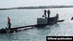 Submarino Delfín.