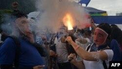Pese a la represión, los manifestantes salen a las calles en Nicaragua.