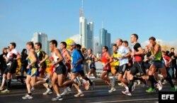 Maratón de Fráncfort, Alemania. Foto archivo.