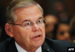 Bob Menéndez, senador demócrata por Nueva Jersey, USA.
