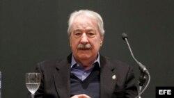 El escritor colombiano Álvaro Mutis.