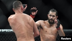 Masvidal vs. Díaz en el Madison Square Garden. (Sarah Stier-USA TODAY Sports)
