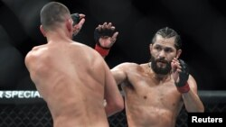 Masvidal vs. Díaz en el Madison Square Garden. (Sarah Stier-USA TODAY Sports)