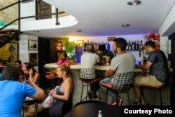 El bar-restaurante O'Reilly 304 en La Habana Vieja.