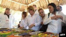 Cubanas del Programa Más Médicos en Brasil.