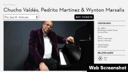 Sitio web oficial de la institución Jazz at Lincoln Center