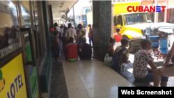 Captura de pantalla de imágenes de reportaje de Palenque Visión publicado en CubaNet.