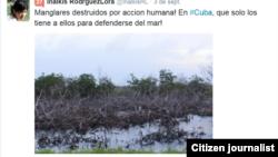 ReportaCuba Medio Ambiente Inalki Rodríguez