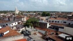 Vista aérea de la ciudad de Camagüey.