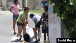 Berta Soler, líder del grupo opositor femenino, fue arrestada con violencia el pasado viernes.