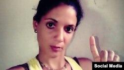Keilylli De La Mora Valle, integrante de la Unión Patriótica de Cuba. (Foto de perfil de Facebook)