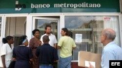 Banco Metropolitano en Cuba.