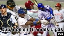 Cubanos en Grandes Ligas.