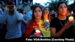 La situación de derechos humanos en Venezuela y Nicaragua se agudiza por la falta de separación de poderes con la persecución y amenazas contra opositores, asegura la CIDH.[Foto de archivo]