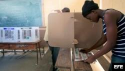 Haití, elecciones. Foto de archivo.