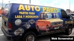 Propuesta exclusiva de negocios: piezas para los viejos Ladas y Moskóvich de Cuba