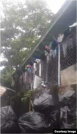 Servicio Nacional de Fronteras en La Peñita, ubicada en Metetí, en el Darién panameño.