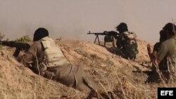 Combatientes del Estado Islámico.