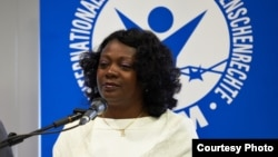 Dama de Blanco asiste a evento sobre derechos humanos en Panamá