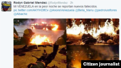 Redes sociales para narrar Venezuela