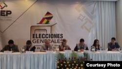 Consejo Electoral de Bolivia