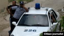Policía violentó la puerta de la casa de la activista Damaris Moya
