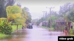 Huracán Michael azotó Pinar del Río.
