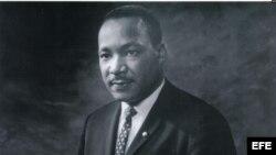 Martin Luther King Jr., líder en la lucha por los derechos civiles en Estados Unidos.