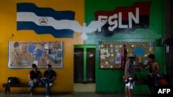 Gimnasio de boxeo en Nicaragua