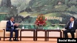 Tedros Adhanom en China el 28 de enero del 2020.