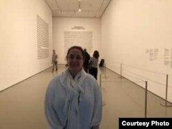 Tania Bruguera en el MoMa. Foto de Roxana Romero.