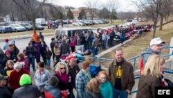 Donald Trump Campaigns in Council Bluffs, Iowa