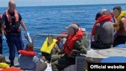 Un grupo de 23 cubanos fue repatriado a la isla. (Foto: Guardia Costera de EEUU)